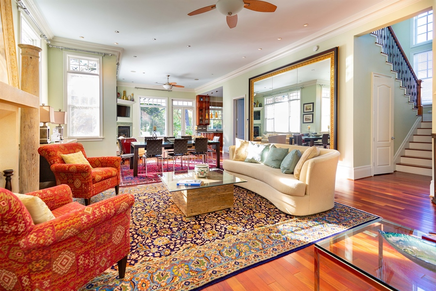 Real Estate Photography - 703 Scarborough Ave, Rehoboth Beach, DE, 19971 - Soaring High Ceilings