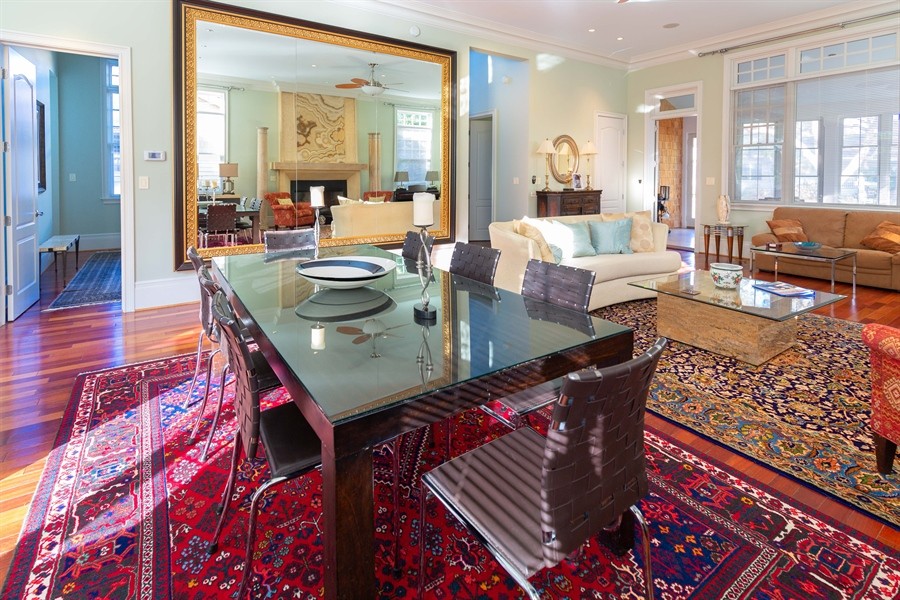 Real Estate Photography - 703 Scarborough Ave, Rehoboth Beach, DE, 19971 - Stunning Dining Area