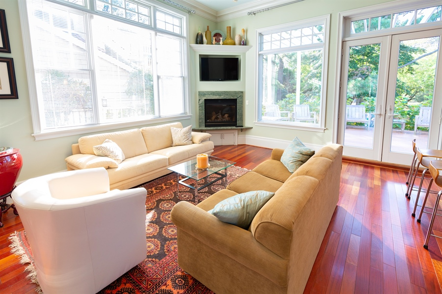 Real Estate Photography - 703 Scarborough Ave, Rehoboth Beach, DE, 19971 - Second Seating Area