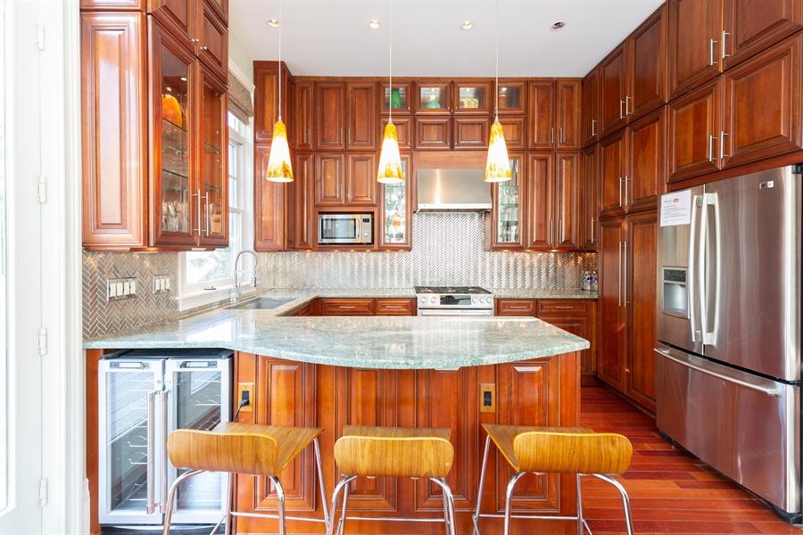 Real Estate Photography - 703 Scarborough Ave, Rehoboth Beach, DE, 19971 - Gorgeous Kitchen