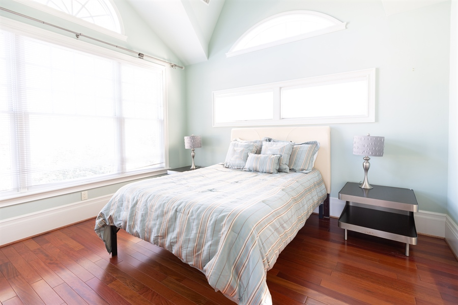 Real Estate Photography - 703 Scarborough Ave, Rehoboth Beach, DE, 19971 - Upper Level-Bedroom #4