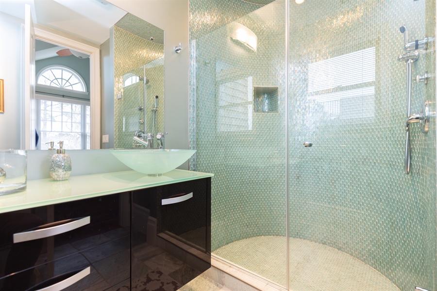 Real Estate Photography - 703 Scarborough Ave, Rehoboth Beach, DE, 19971 - Bedroom #4- Full Bath