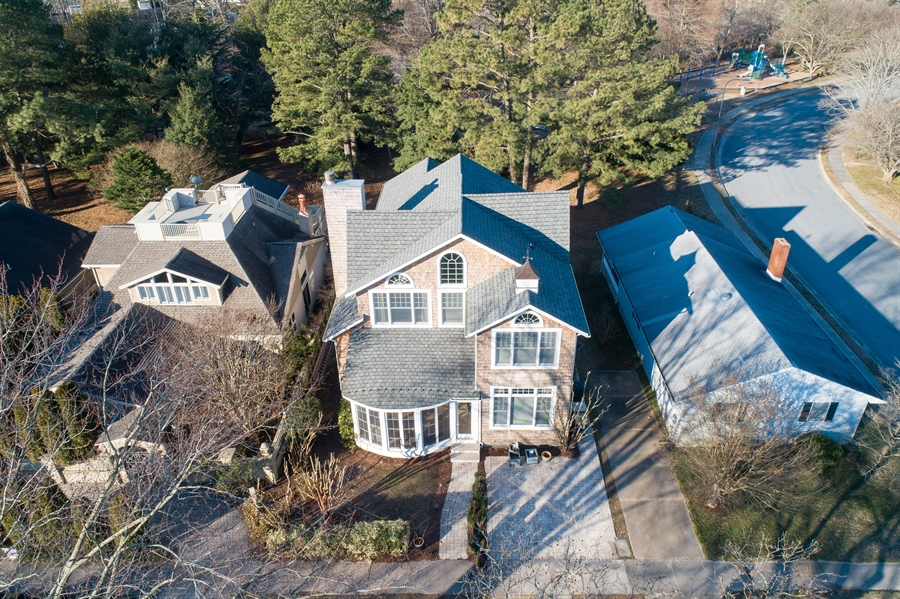 Real Estate Photography - 703 Scarborough Ave, Rehoboth Beach, DE, 19971 - Parkland Behind the Home