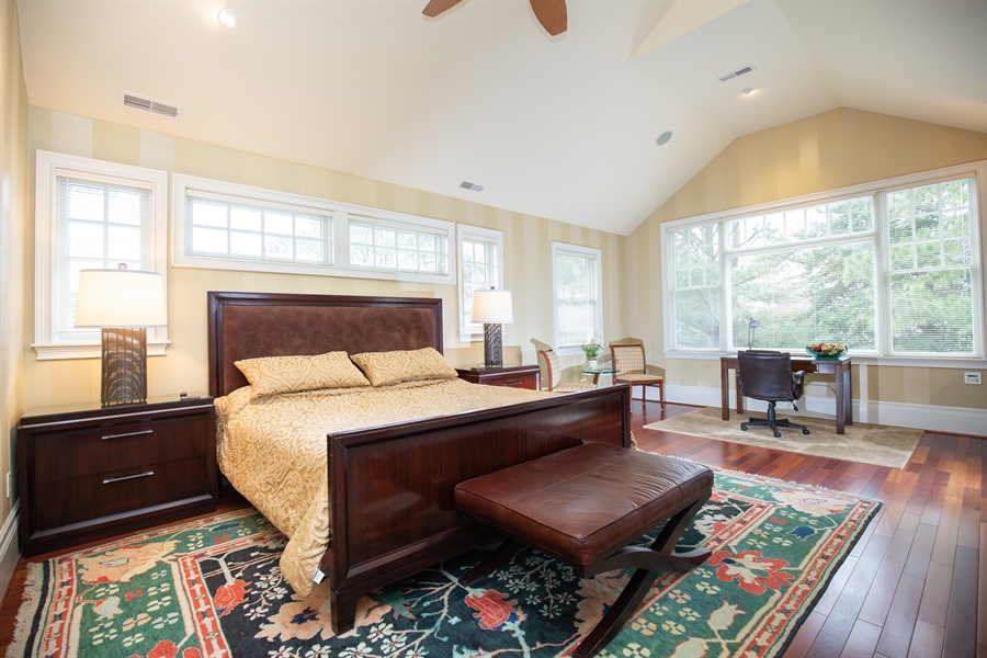 Real Estate Photography - 703 Scarborough Ave, Rehoboth Beach, DE, 19971 - Gorgeous Owner's Suite on Upper Level