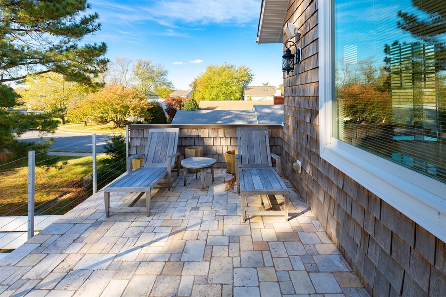 Real Estate Photography - 703 Scarborough Ave, Rehoboth Beach, DE, 19971 - Owners Bedroom Private Deck
