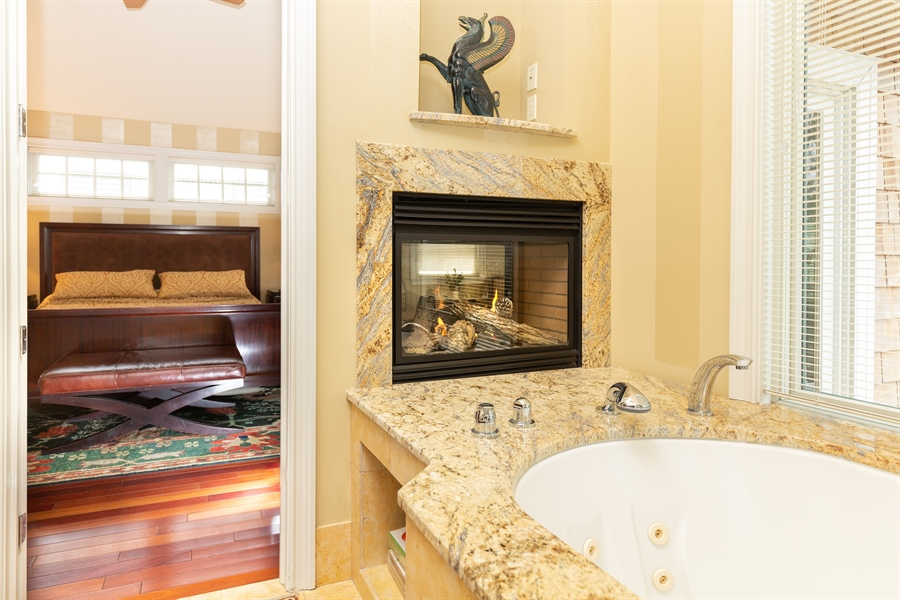Real Estate Photography - 703 Scarborough Ave, Rehoboth Beach, DE, 19971 - Ambiance in the Bath