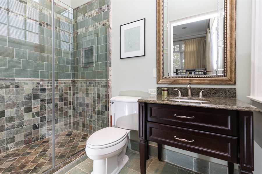 Real Estate Photography - 703 Scarborough Ave, Rehoboth Beach, DE, 19971 - Main Level- 2nd Full Bath
