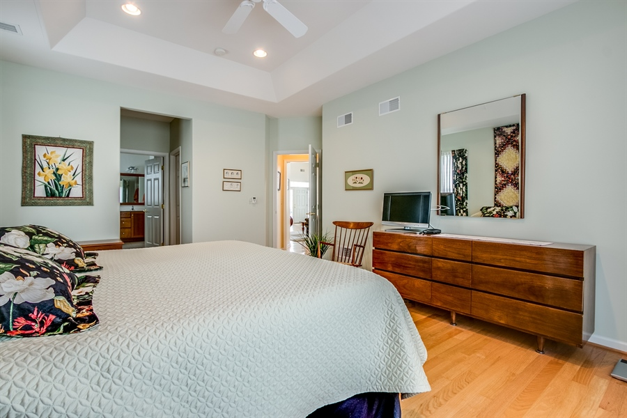 Real Estate Photography - 109 Crescent Rd, Landenberg, PA, 19350 - Tray Ceiling & Fan