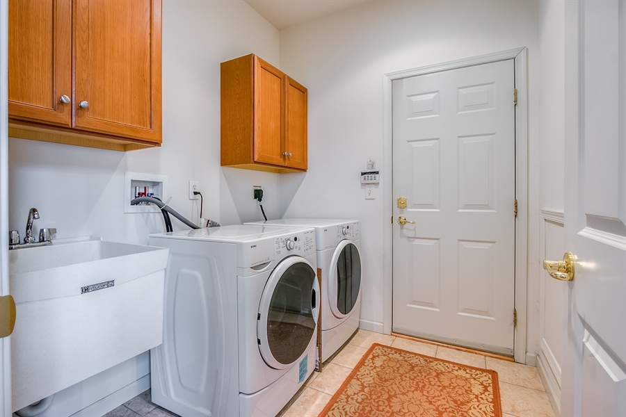 Real Estate Photography - 109 Crescent Rd, Landenberg, PA, 19350 - Laundry on Main Level