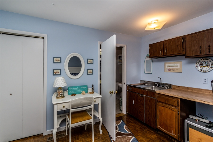 Real Estate Photography - 229 W Main St, Elkton, MD, 21921 - In-Law/au-Pair/Suite Kitchen Area