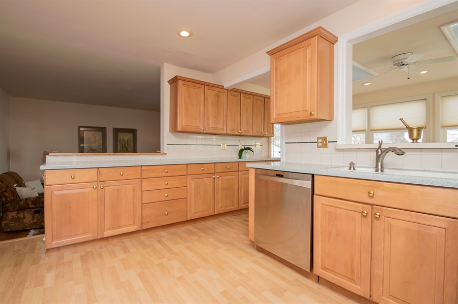 Real Estate Photography - 947 Rahway Dr, Newark, DE, 19711 - Open to Family Room
