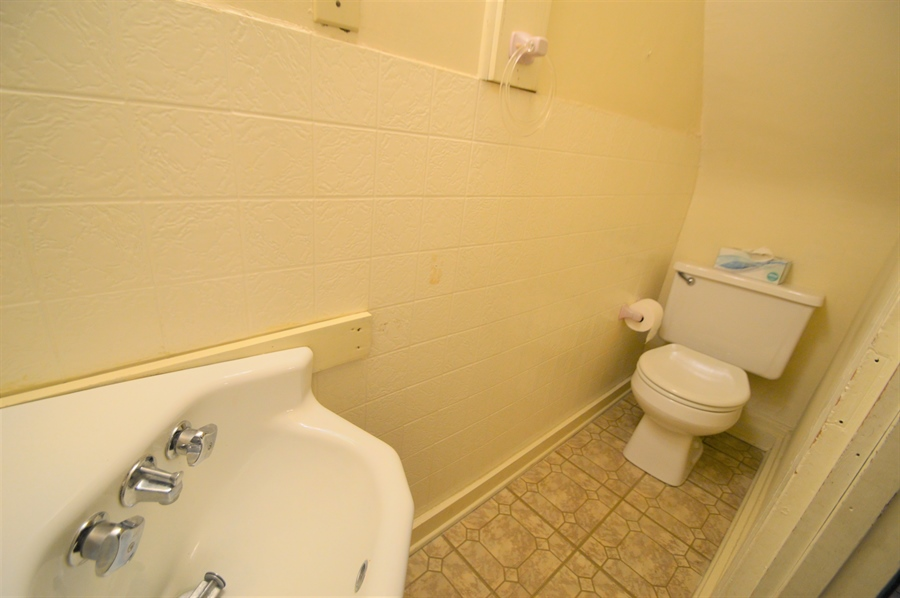 Real Estate Photography - 8-10 N Cass Street, Middletown, DE, 19709-1007 - Powder Room - Main Floor