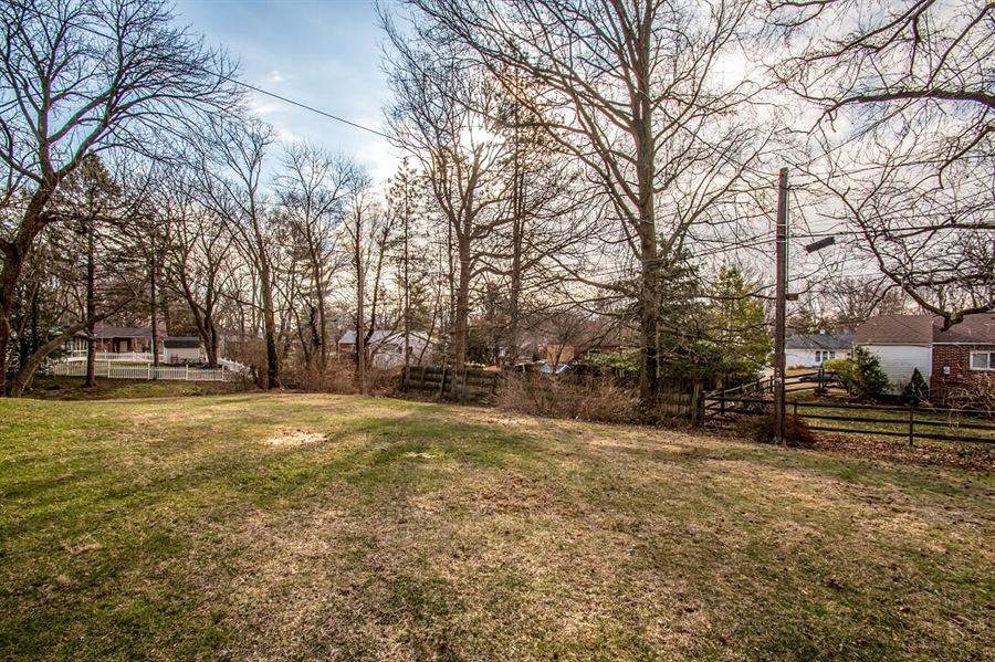 Real Estate Photography - 120 Carlie Rd, Wilmington, DE, 19803 - Large Backyard