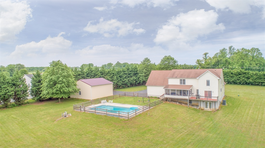 Real Estate Photography - 70 Stoney Battery Rd, Earleville, MD, 21919 - IN GROUNG POOL!