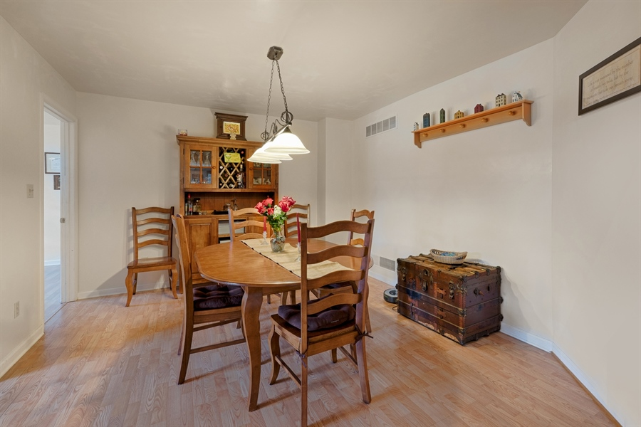 Real Estate Photography - 70 Stoney Battery Rd, Earleville, MD, 21919 - DINING, PERGO FLOORING