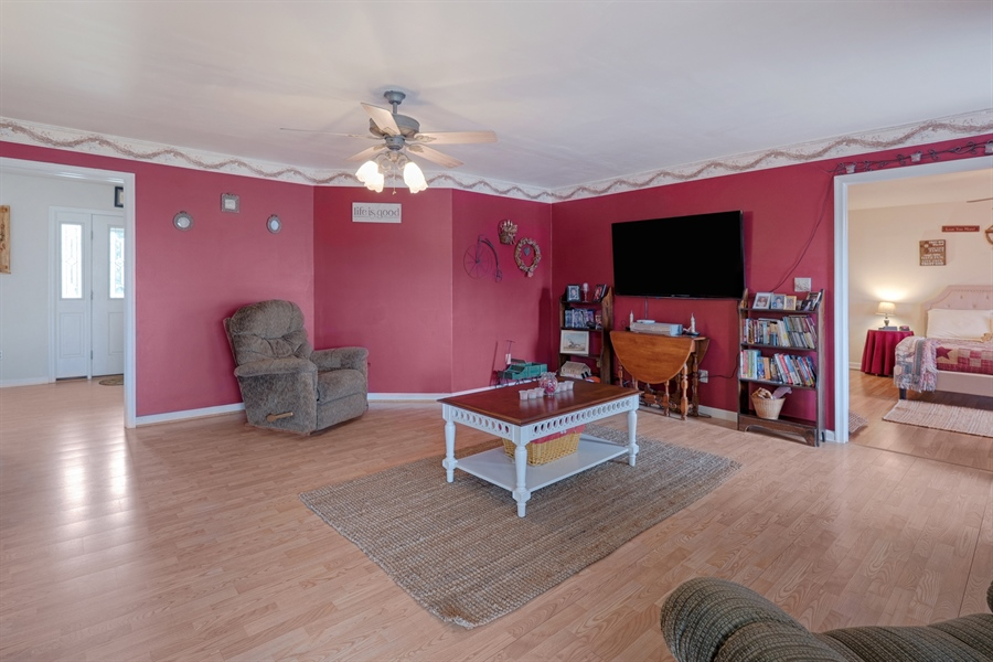 Real Estate Photography - 70 Stoney Battery Rd, Earleville, MD, 21919 - SO MANY FURNITURE PLACEMENT OPTIONS!