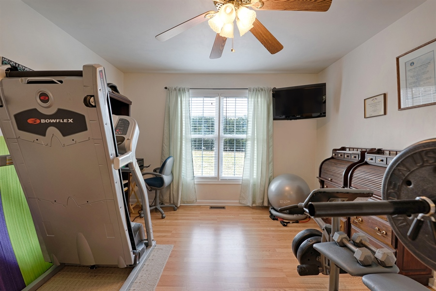 Real Estate Photography - 70 Stoney Battery Rd, Earleville, MD, 21919 - MAIN FLOOR BEDROOM, OFFICE, GYM, YOUR CHOICE