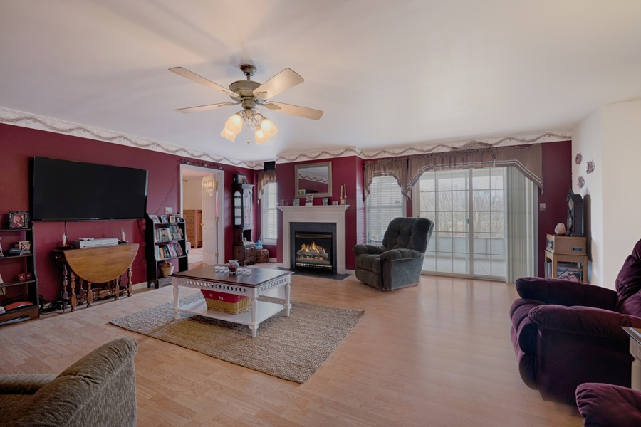 Real Estate Photography - 70 Stoney Battery Rd, Earleville, MD, 21919 - FAMILY ROOM WITH FIREPLACE