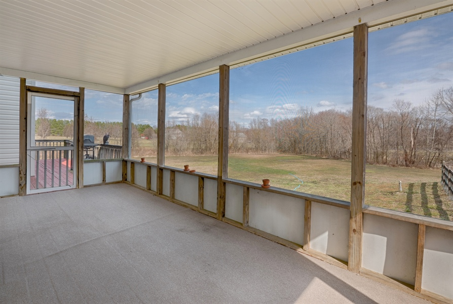 Real Estate Photography - 70 Stoney Battery Rd, Earleville, MD, 21919 - LARGE SCREENED PORCH