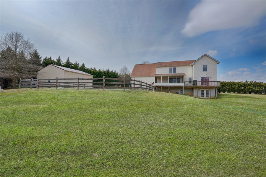Real Estate Photography - 70 Stoney Battery Rd, Earleville, MD, 21919 - REAR VIEW! 1.5 ACRES OF CLEARED PASTURE