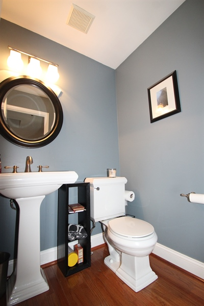 Real Estate Photography - 8 Windsor Ct, Elkton, MD, 21921 - Powder Room