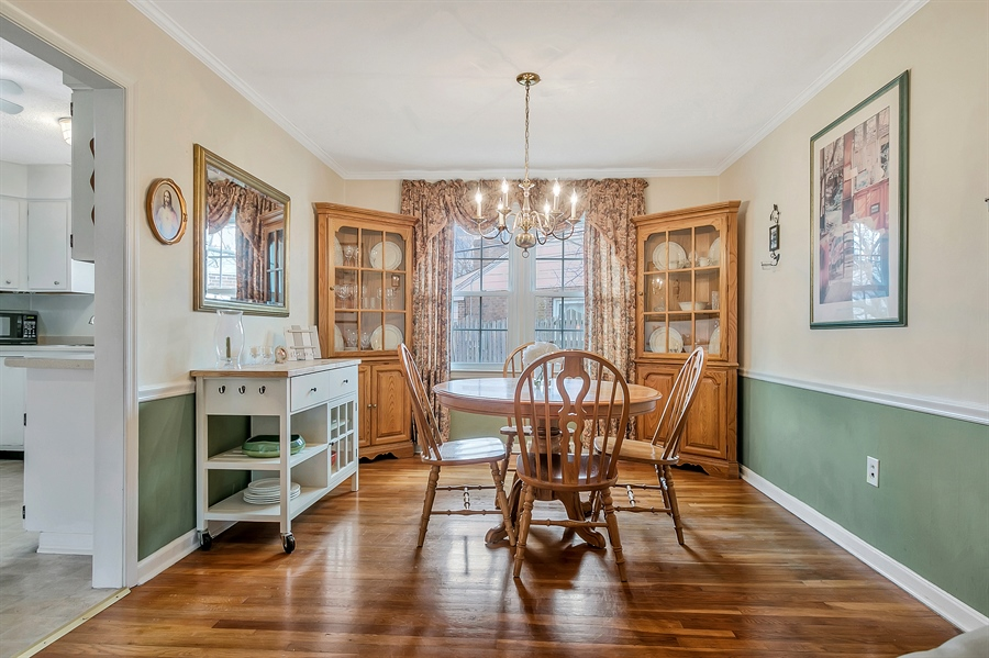 Real Estate Photography - 2500 Turnstone Dr, Wilmington, DE, 19805 - Another View Of The Dining Room