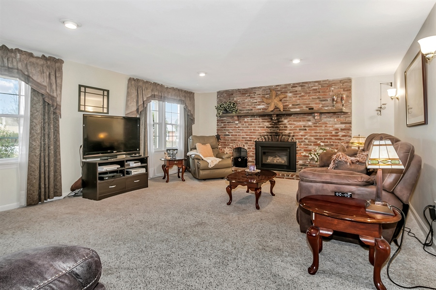 Real Estate Photography - 2500 Turnstone Dr, Wilmington, DE, 19805 - One More View Of The Family Room