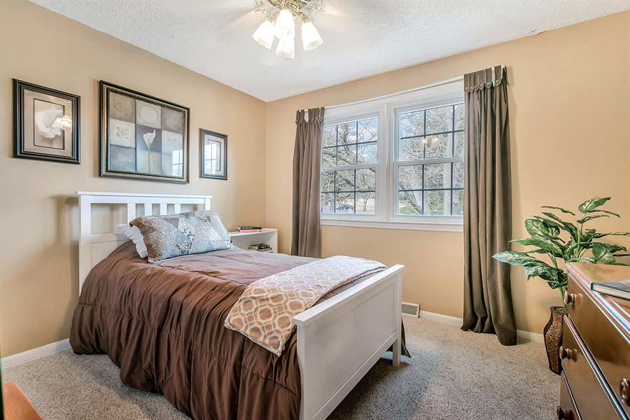 Real Estate Photography - 2500 Turnstone Dr, Wilmington, DE, 19805 - Additional Bedroom With Large Double Window