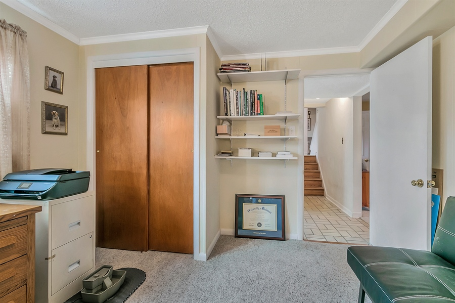 Real Estate Photography - 2500 Turnstone Dr, Wilmington, DE, 19805 - Another View Of The Office Or Bedroom