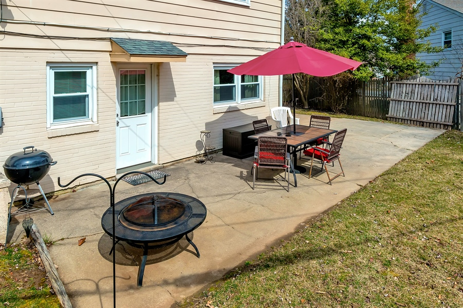 Real Estate Photography - 2500 Turnstone Dr, Wilmington, DE, 19805 - Another Patio View