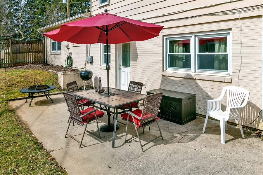 Real Estate Photography - 2500 Turnstone Dr, Wilmington, DE, 19805 - One More Patio View!