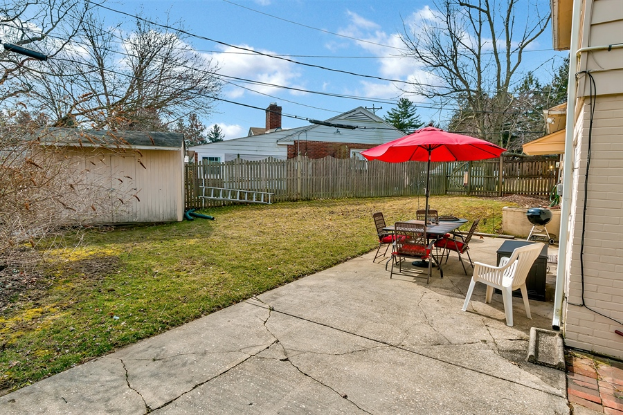 Real Estate Photography - 2500 Turnstone Dr, Wilmington, DE, 19805 - Expansive, Private Yard