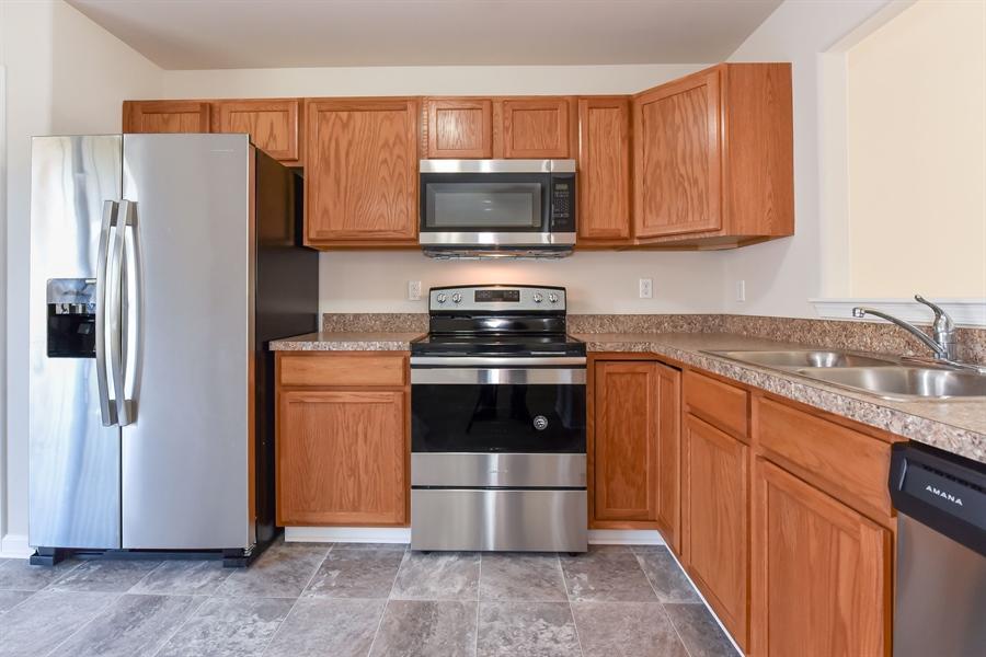 Real Estate Photography - 106 Ben Boulevard, Elkton, DE, 21921 - New stainless appliances