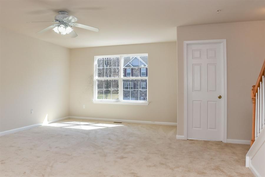 Real Estate Photography - 106 Ben Boulevard, Elkton, DE, 21921 - Ceiling fan, double window & Powder Room