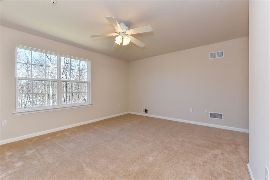 Real Estate Photography - 106 Ben Boulevard, Elkton, DE, 21921 - Up to the Master Bedroom, 16x13, in the rear