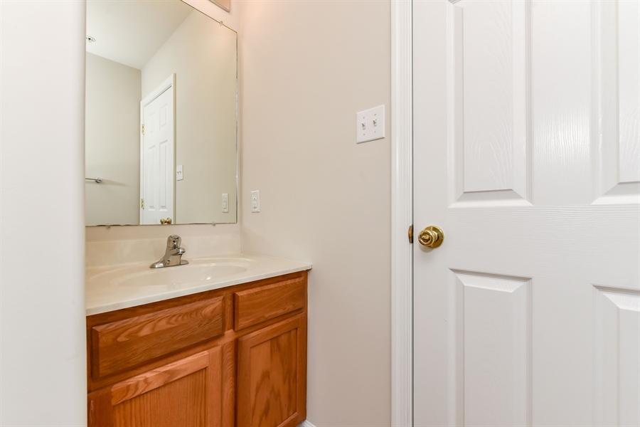 Real Estate Photography - 106 Ben Boulevard, Elkton, DE, 21921 - Master Bedroom vanity with door to full bath
