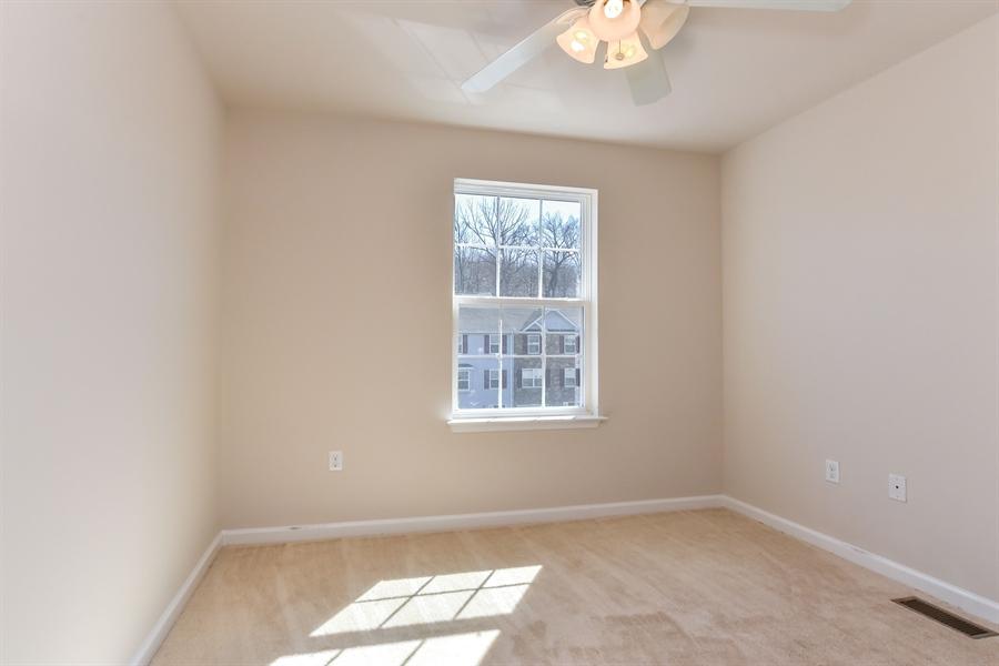 Real Estate Photography - 106 Ben Boulevard, Elkton, DE, 21921 - Smaller front bedroom, ceiling fan