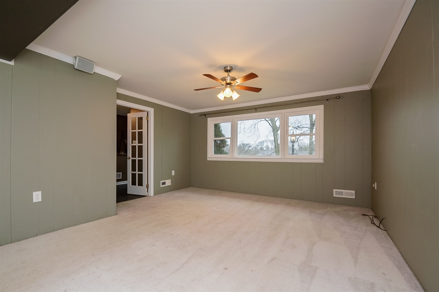 Real Estate Photography - 103 Compass Dr, Claymont, DE, 19703 - Family Room with French Door Entry