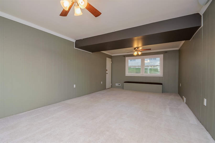 Real Estate Photography - 103 Compass Dr, Claymont, DE, 19703 - Family Room has Garage Access