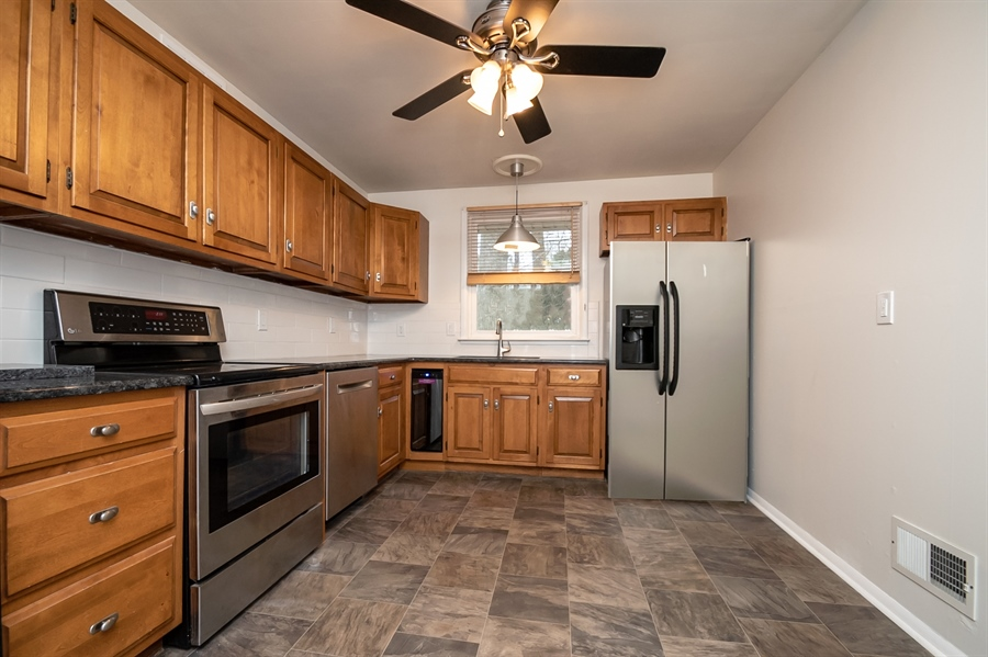 Real Estate Photography - 103 Compass Dr, Claymont, DE, 19703 - Recently Updated Kitchen