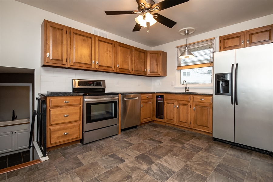 Real Estate Photography - 103 Compass Dr, Claymont, DE, 19703 - Kitchen Access to Main Level