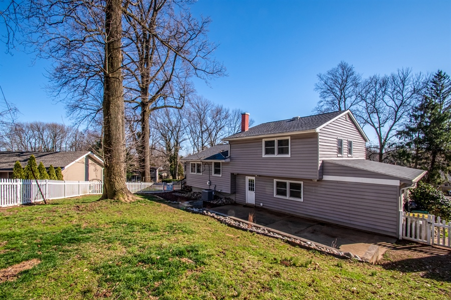 Real Estate Photography - 103 Compass Dr, Claymont, DE, 19703 - Full Backyard on a Corner Lot
