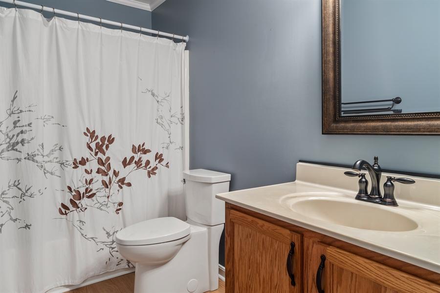 Real Estate Photography - 3 Beacon Cir, Millsboro, DE, 19966 - Hall bath