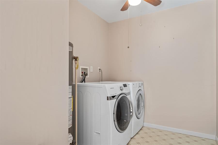 Real Estate Photography - 3 Beacon Cir, Millsboro, DE, 19966 - Laundry room