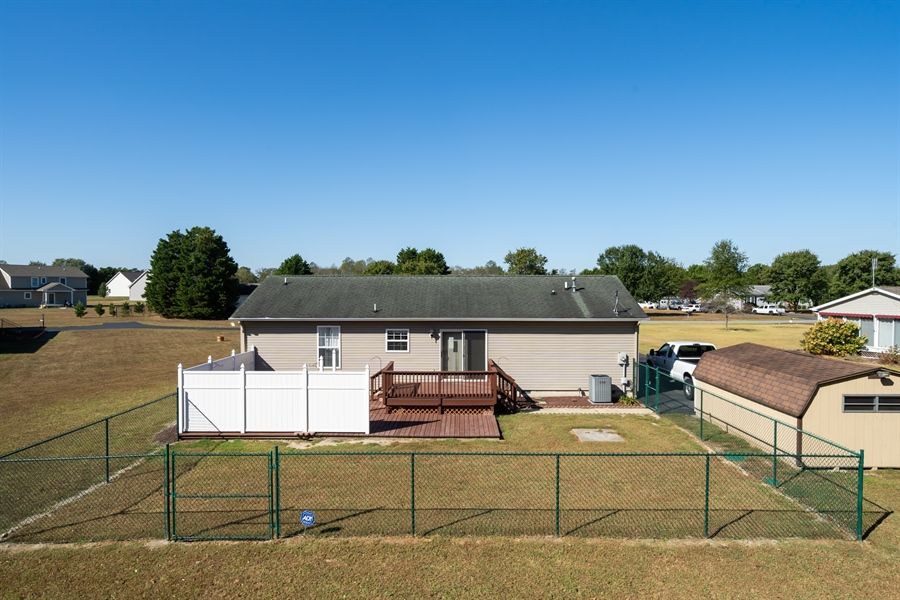 Real Estate Photography - 3 Beacon Cir, Millsboro, DE, 19966 - Back yard