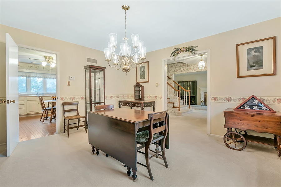 Real Estate Photography - 26 N Cliffe Dr, Wilmington, DE, 19809 - Large Formal Dining Room Dine In Style!