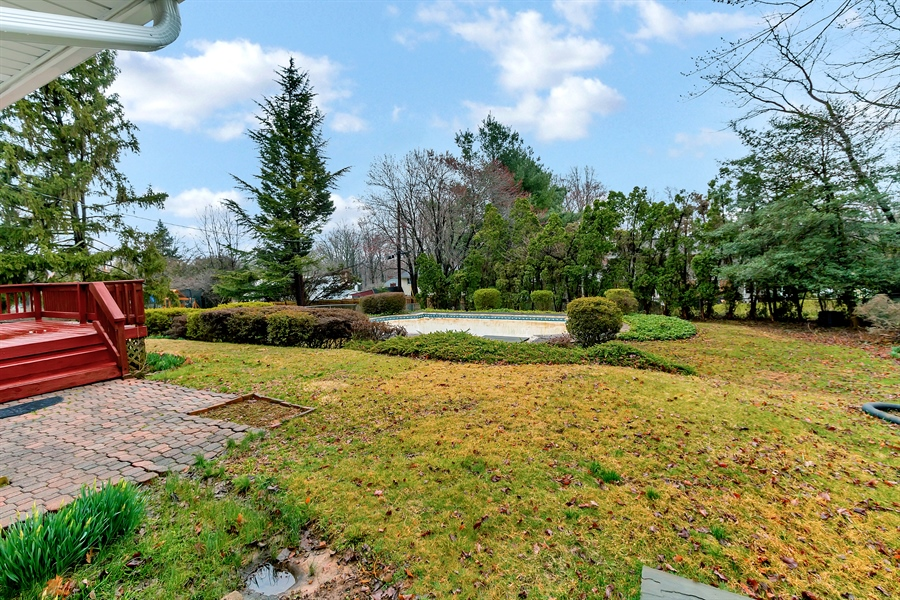 Real Estate Photography - 26 N Cliffe Dr, Wilmington, DE, 19809 - Lovely, Private Yard With Pool