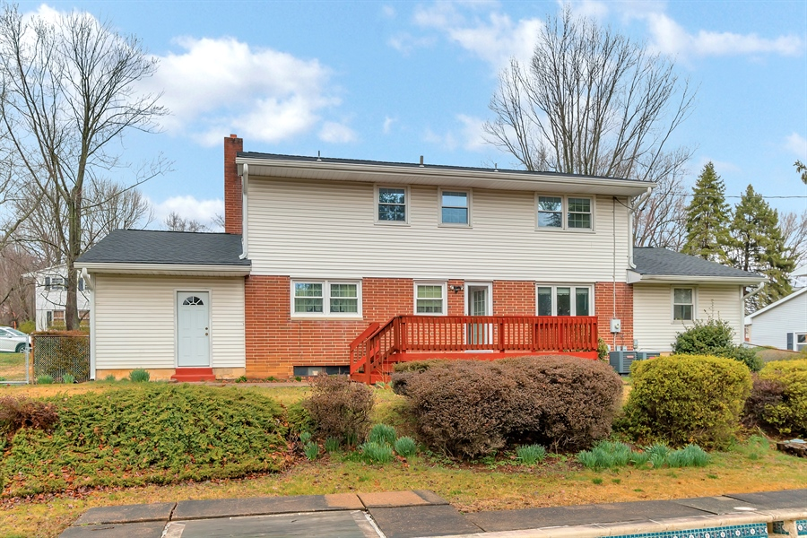 Real Estate Photography - 26 N Cliffe Dr, Wilmington, DE, 19809 - Back Of Home