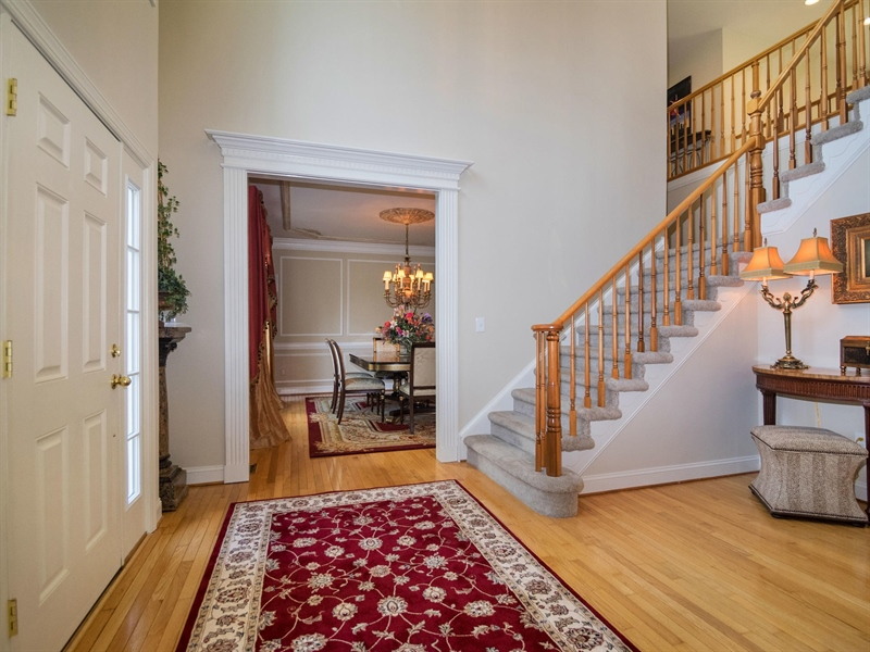 Real Estate Photography - 1110 Alexander Ln, West Chester, PA, 19382 - Two Story Entry Foyer
