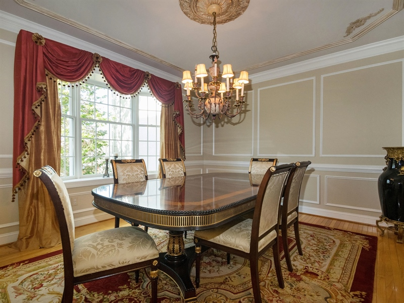Real Estate Photography - 1110 Alexander Ln, West Chester, PA, 19382 - Dining Room